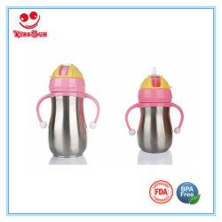 Mejor Biberón de acero inoxidable Botella de agua personalizada para niños