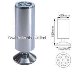 Алюминиевые трубы регулируемые ножки стола металла (344)