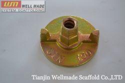 Coffrage de fer malléable transtypé deux écrou d'ancrage d'aile