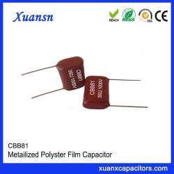 Cbb81 на основе металлических полипропиленовая пленка конденсаторы высокого напряжения 392J1000V