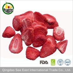 2021 gelare le patatine secche di fragola Salute Berries frutta snack
