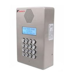 Freisprecheinrichtung Telefon Intercom IP PBX System mit LCD-Display