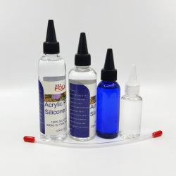 100% Silicone derramando óleo com tubo de aplicador para a pintura em acrílico