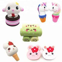 Aperte o alívio do estresse Squishy espuma de PU Toy Kawaii Bonitinha brinquedo de Espuma