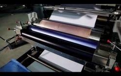 Дневник сборник упражнений, Flexographic механизма печати и 2 цветных правящей машины