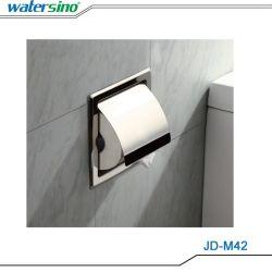 Wc cromado suporte do rolo de aço inoxidável 304 acessórios de banho Wc Caixa de papel