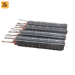 Le tube en cuivre aluminium Type fin à des fins commerciales de la bobine du condenseur de congélateur