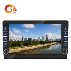 Stereotipia della fabbrica 1 audio automatico universale Android dell'automobile del sistema di multimedia dello schermo di tocco di WiFi di BACCANO GPS