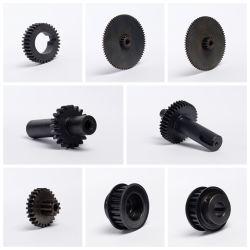 高精度の習慣CNCの機械化の部品の螺線形の斜めギヤシャフト