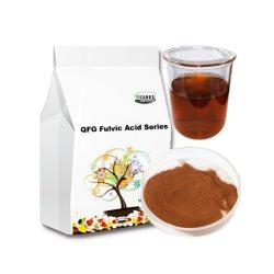 有機性証明書付きの 100% 可溶性有機肥料の Fulvic Acid