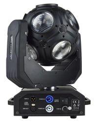 Красочные этапе Magic 12X12W RGBW 4 в 1 футбольных LED перемещение светового пучка света DJ Disco освещения