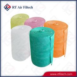 Ar Industrial de bolso do Filtro a eficiência média de filtro para o sistema de coleta de pó