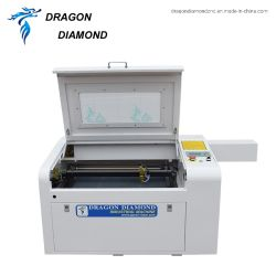 machine à gravure laser rotatif 6040 Mini Machines de bureau pour la sculpture de verre