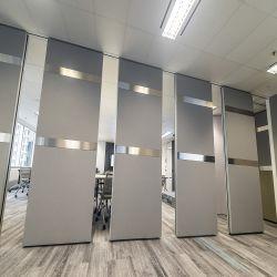 Salle de classe acoustique portes pliantes avec son mur de la preuve cloison amovible
