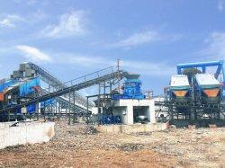 linea di produzione aggregata del complesso dell'arenaria di alta qualità del sistema elaborante della ghiaia 800t/H