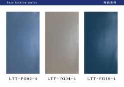 PVC lisse de couleur unie pour le mobilier du film de plastification et le Cabinet