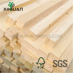 Los materiales de construcción resistente al agua de madera maciza con imprimación blanca marco de la puerta para la decoración del hogar