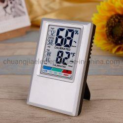 Для использования внутри помещений цифровой термометр гигрометр с Max мин температура Влажность записи