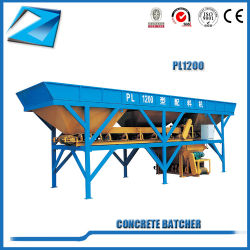 Serie Batcher modelo PL1200 para la planta de procesamiento por lotes Batcher máquina