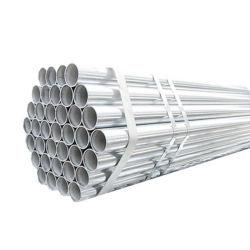 Pre-Galvanized Tubo de Aço, Rodada resíduos explosivos de carbono Tubo Gi, Aço Galvanizado Tamanho do tubo de aço macio