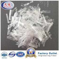 Les fournisseurs de la Chine PP Béton Fibres Fibres Chimiques Fibre de maillage en polypropylène