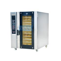 세륨 (ZMR-8D)를 위해 요리하는 이용된 전기 8개의 쟁반 대류 프레임 센서 오븐