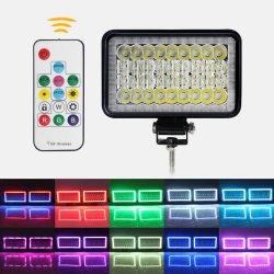 Стробоскоп смены цветов пульта дистанционного управления 1002r автоматическая система освещения светодиодная подсветка RGB фары автомобиля