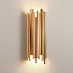 De in het groot Lamp van de Muur van het Bed van de Buis van het Metaal Moderne