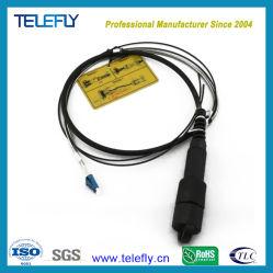 Водонепроницаемый для использования вне помещений бронированных кабель в сборе Pdlc-Dlc оптоволоконный кабель питания исправлений