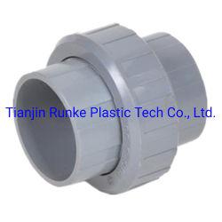 Accessorio per tubi unito di gomma di plastica standard del PVC dell'accessorio per tubi dell'accessorio per tubi del grande diametro di BACCANO di alta qualità UPVC per il rifornimento idrico