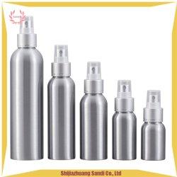 Bottiglia impaccante cosmetica di alluminio della lozione di trucco della protezione della pompa di pressa