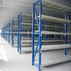 3 Reihe-Werkstatt der Bucht-5, die HochleistungsmetallBoltless Fach stark beansprucht