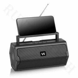Altoparlante portatile stereo Premium senza fili di V6 Bluetooth per dell'interno/esterno