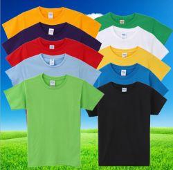 100% coton fait l'été de l'enfant T shirt Logo personnaliser T-shirt col rond
