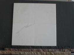 Metro mayorista azulejos de mármol, piedra de cristal puro granito blanco