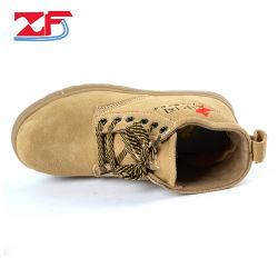 سعر جيد مزدوج الكثافة الصلب حذاء حقيقي الجلد مقاومة للماء الصناعي أحذية السلامة الخاصة بالعمل