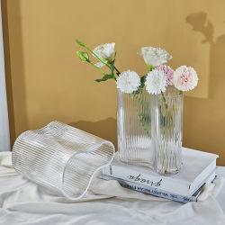 OEM/ODM Glass Flower Vase Support Logo Color Shape Pattern Package Aangepast