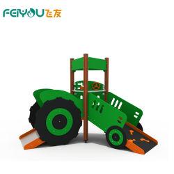 La Chine matériau PEHD Spécial Enfants de la conception de nouvelles normes de voiture de l'équipement de terrain de jeux avec TUV en acier inoxydable Diapositive