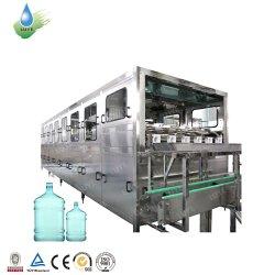 Enchimento automático Máquina 5 Galão garrafa pet/ 20L de água mineral a linha de produção/Rinser Capper de Enchimento