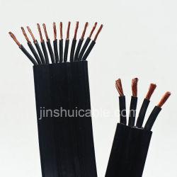Câble de la pompe submersible / par câble / plus de noyau de câble plat en caoutchouc