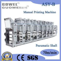 آلة الطباعة على الرصوف اليدوية من المصنع لـ OPP و PVC و PE و PVC.