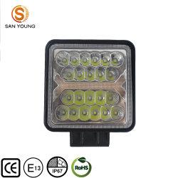 4-дюймовый светодиодный индикатор работы производитель DRL Вспышка квадратные светодиодные лампы рабочего Offroad 12V 24V 150W трактор погрузчик светодиодный фонарь рабочего освещения