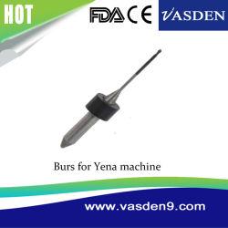 CAD CAM Dental Bur 1,0mm/2,0Mm Yena Rebarba do Laboratório de medicina dentária