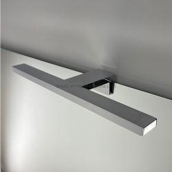 أثاث حمام من الكروم 40 سم من الكروم، ديكور منزلي، حمام، خزانة، مقاومة للماء مصباح مرآة الزينة الأمامية LED مع IP44 220 فولت/110 فولت