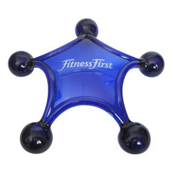 Cadeaux de promotion de cinq étoiles masseur en plastique en forme