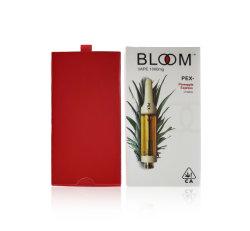 花のカートリッジ0.8ml 1mlはVapeのペン510の糸の陶磁器のカートPVC管のChirldproof Vapeのカートリッジ包装を空ける