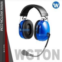 Double Coquille insonorisante casque antibruit avec câble amovible pour Motorola Xts2500 Radio avec bandeau ajustable pour un talkie-walkie