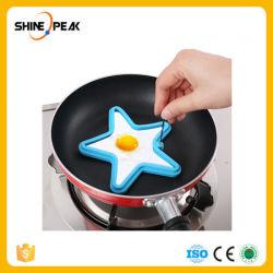Forma de estrella huevo frito Pancake el anillo de silicona de molde huevo frito de Conjunto de Herramientas de Cocina Cocina Gadgets para alimentos Shippingp caída de las herramientas de bricolaje25