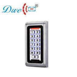 2000 125kHz em ID do usuário à prova de teclado de metal porta RFID Controlador de acesso autônomo