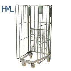 Высококачественная Прачечная Промышленная Портативная Проволочная Сетка Roll Cage Worktainer
